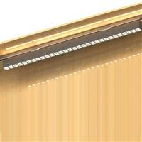 900 Rail Mounted  anti-glare led linear downlights Invisible Source