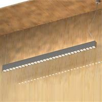1000 led linear luminaire with square High-quality led lens