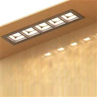 320 linear downlights Linear modular LED recessed luminaire