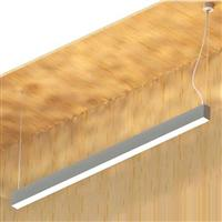 1800 LED Linear Suspension Lighting Fixture down uplight
