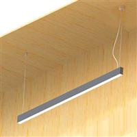 1000 line Suspension LED in extruded aluminium Profile Lighting