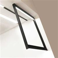 1520 Ceiling Mounted luminaire for direct and indirect LED lighting