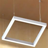 600 Architectural LED square linear suspension luminaire
