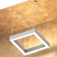 6000 Super large Square led linear Light Fixture Ceiling Pendant