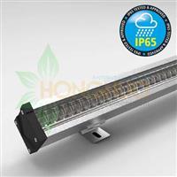 60w 15deg waterproof LED Linear Light Fixture IP65 double asymmetric