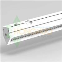 60w 25deg Surface Mounted narrow aperture LED Linear Lighting Fixture