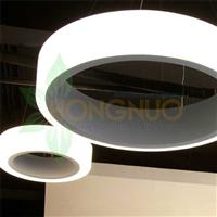 extra large led Ring Pendant 2800 suspended architectural LED circular