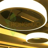 ring 750 circular Suspended Pendant ring shaped feature led lighting