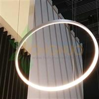 950 minimalist Slim ring shaped suspended lighting