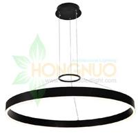 800 round modern minimalist Ring shaped suspension led luminaire