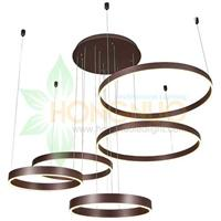 extra large 5 rings merge Circula LED Chandeliers