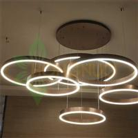super large multi ring merge led Lighting systemsCircula LED lighting