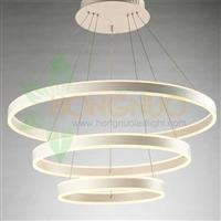 3 rings High quality led acrylic ring pendant Indirect direct light