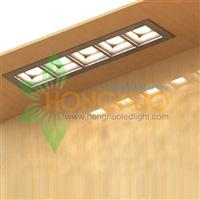 220 square in micro and mini construction sizes square LED downlights