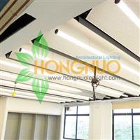 Office building Modern led lighting 360 degrees circular led tube led