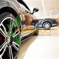 Auto Showroom bentley Motor Show Lighting Project Ring LED Pendant