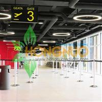 Airports Lighting Project High quality LED ring luminaire Airports