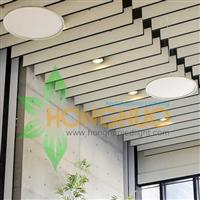 Office building Lighting Project Ultra thin round LED luminaire silm