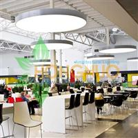 Shopping plaza led Lighting Project Department Store circular led lamp