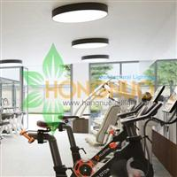 Gymnasium Lighting Project Exhibition hall Round Surface LED Lighting