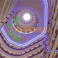 Shopping centers Project lighting Shopping mall Round Surface LED lamp