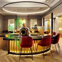 Bar VS Hotel Lighting Project Hospitality Circular Ring LED Pendant
