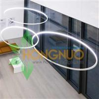 Modern led Office Lighting Project Circular Ring LED Pendant