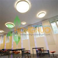 Modern Office building led lighting Project LED circular suspended led