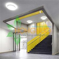 Modern Office led Lighting Project Circular surface mounted luminaire