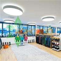 Shopping plaza led Lighting Project Round Opal Surface LED Lighting