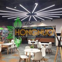 Bar Lighting Project Shopping plaza lighting LED Linear Pendant Light