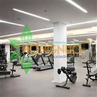 Gymnasium Lighting Project Exhibition hall lighting recessed LED light