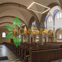 Churches Lighting Project Monasteries square Linear led luminaire