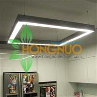 School led Lighting Project Suspended linear square led luminaire